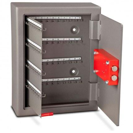 Burton CE120 Key Cabinet Digital Electronic Lock 120 Keys - door wide open