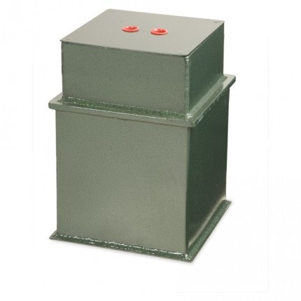 £3K Underfloor Security Safe - Burton Claymore 9 Key closed