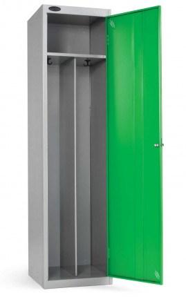 Probe Clean & Dirty Locker 1780x460x460mm green open door