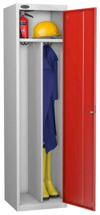 Probe Clean & Dirty Key Locking Locker red