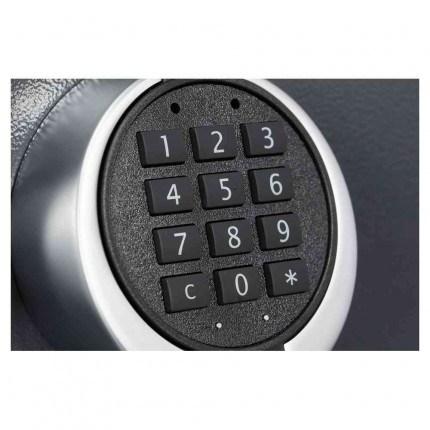 Keysecure Victor Eurograde 1 Electronic Security Safe Size 2 - keypad detail