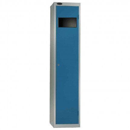 Probe Dirty Laundry Workwear Collector Locker in blue