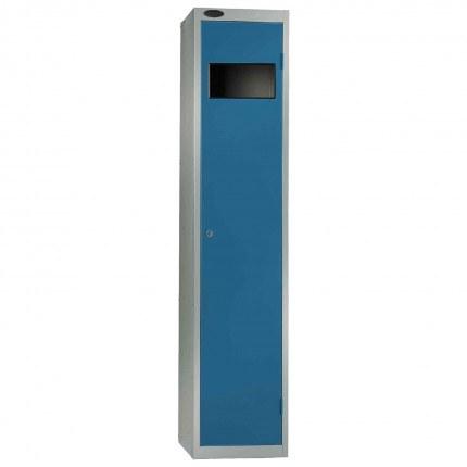 Probe Dirty Laundry Workwear Collector Locker in blue