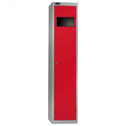 Probe Dirty Laundry Workwear Collector Locker in red