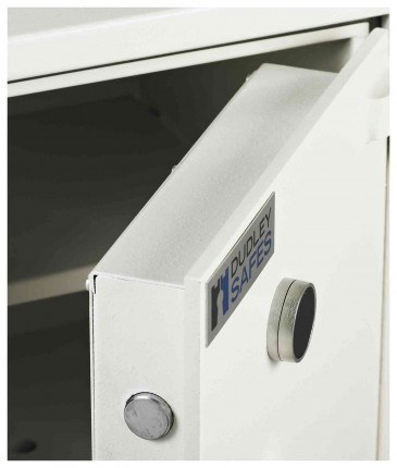 Dudley Compact 5000-3 Fire £5000 Rated Security Safe - door detail