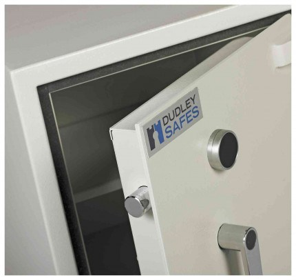 Dudley Compact 5000-1 Fire £5000 Rated Security Safe - door bolts