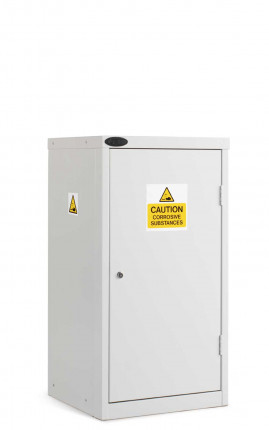 Probe Acid Corrosive Small Steel Cabinet with Dished Top front