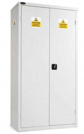 Probe AA-R Acid Alkali High Double Door Steel COSHH Cabinet - doors closed