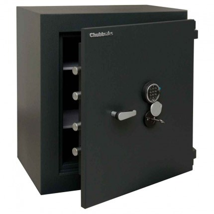 ChubbSafes Custodian 110 EuroGrade 4 Dual Locking Security Safe - door ajar