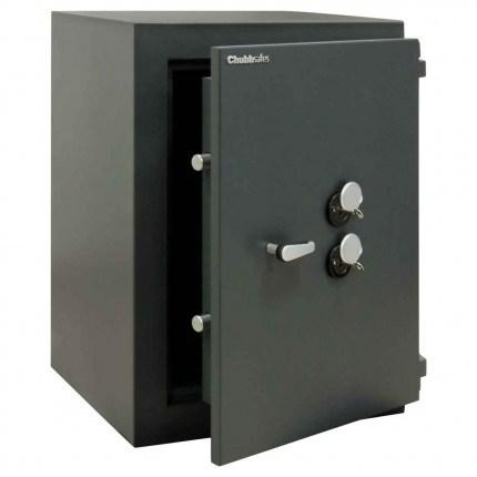 ChubbSafes Custodian 170 EuroGrade 4 Dual Locking Security Safe - door ajar