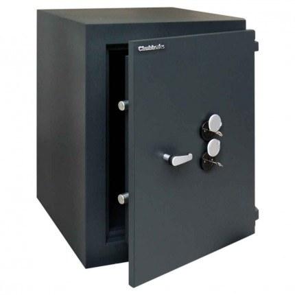 ChubbSafes Custodian 210 EuroGrade 5 Dual Locking Security Safe - door ajar