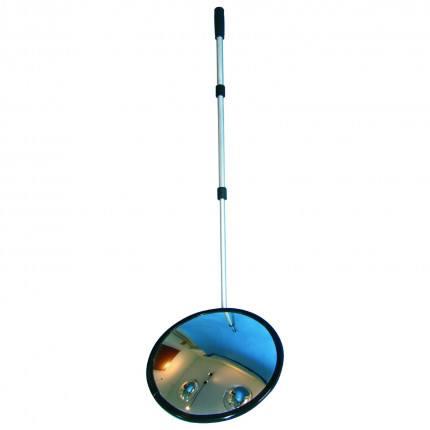 Security Inspection Mirror Castors - Dancop Spexi 35cm arm extended