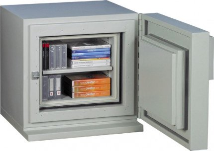 Chubbsafes DataGuard 25K Media Safe Open Contents