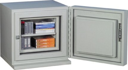 Chubbsafes DataGuard 25K Media Safe Wide Open Contents