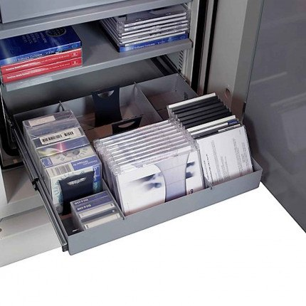 Chubbsafes Data Plus DP1 Fireproof Data EN1047-1 Safe 120mins - optional Extensible Shelf with Dividers