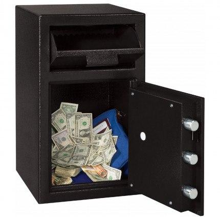 Sentry Cash Deposit Safe DH-109E - Deposit box open