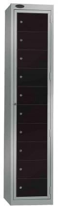 Probe Clean Laundry Dispenser Locker for 10 Users black