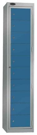 Probe Clean Laundry Dispenser Locker for 10 Users blue