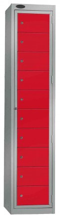 Probe Clean Laundry Dispenser Locker for 10 Users red