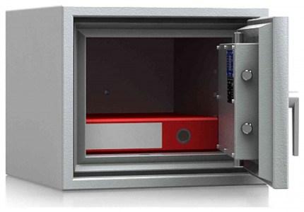 De Raat DRS Combi-Fire 1K £4000 Rated Key Lock Security Fireproof Safe - door open