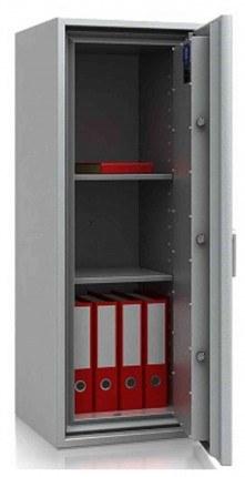 Large De Raat DRS Combi-Fire 4K £4000 Rated Key Lock Security Fireproof Safe - door open
