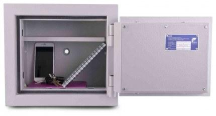 De Raat DRS Prisma 1-0E Small Eurograde 1 Electronic Safe Size 0 - interior view