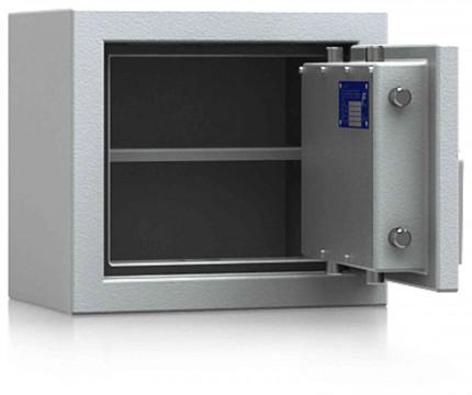 De Raat DRS Prisma 2-0K Small Eurograde 2 Key Locking Safe - door ajar
