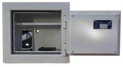 De Raat DRS Prisma 2-0K Small Eurograde 2 Key Locking Safe - door wide open