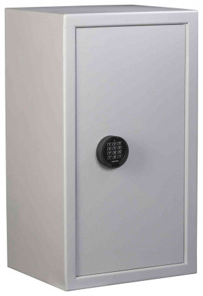 The large 87 litre De Raat Vector S2 4E Electronic Security Safe - closed