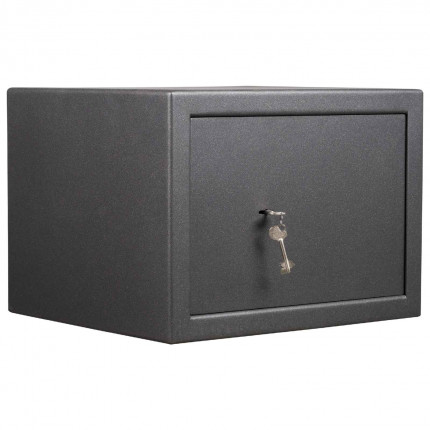 Key Locking £4000 Laptop Safe - De Raat Vega S2 40K - Closed