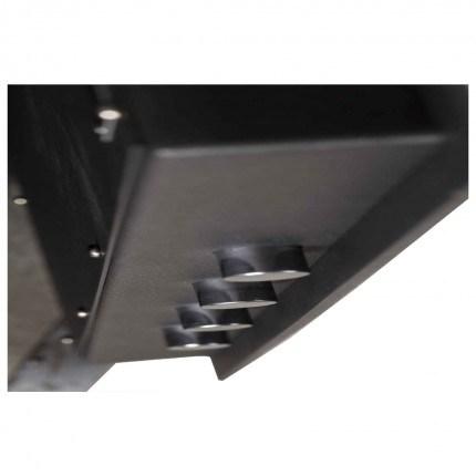 De Raat DRS Vega S2 85E Electronic £4000 Security Safe - Door Boltwork Detail