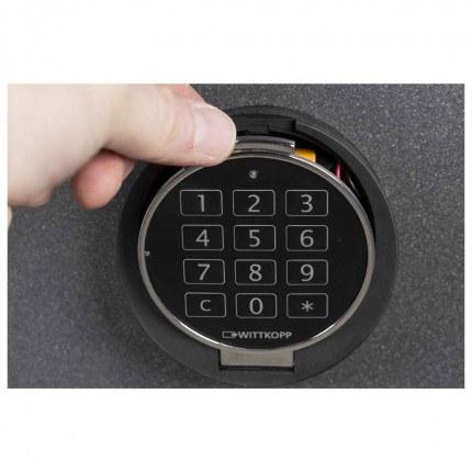 De Raat DRS Vega S2 10E Electronic £4000 Security Safe - Digital Lock Detail