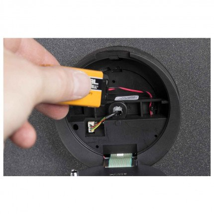 De Raat DRS Vega S2 50E £4000 Security Safe Electronic Lock Battery Replacement