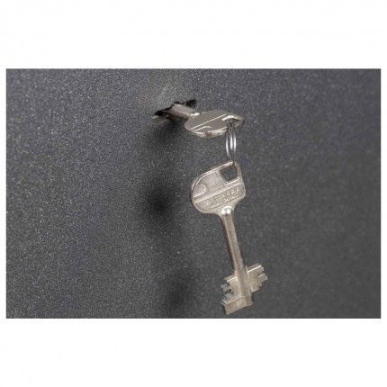 Key Locking £4000 Laptop Safe - De Raat Vega S2 40K - Key Lock detail