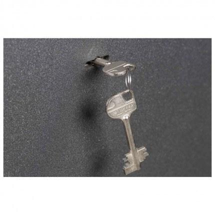 Key Locking £4000 Laptop Safe - De Raat Vega S2 40K - Key Lock detail