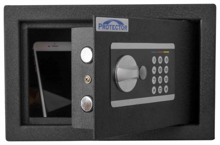 Protector Domestic DS2031E Digital Electronic Home Security Safe - door ajar