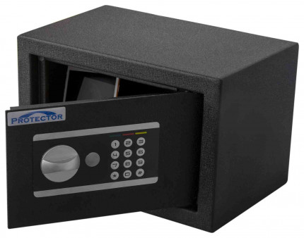 Protector Domestic DS2031E Digital Electronic Home Security Safe - door open