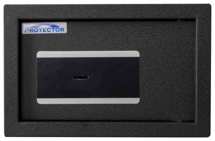 Protector Domestic DS2031K Key Locking Home Security Safe - front view