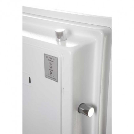 Phoenix DataCombi DS2501E Digital 90min Fire Paper Data Safe - door bolts