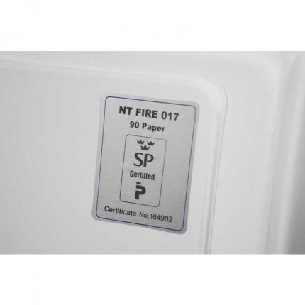 Phoenix DataCombi DS2502E Digital 90min Fire Paper Data Safe - fire test certificate