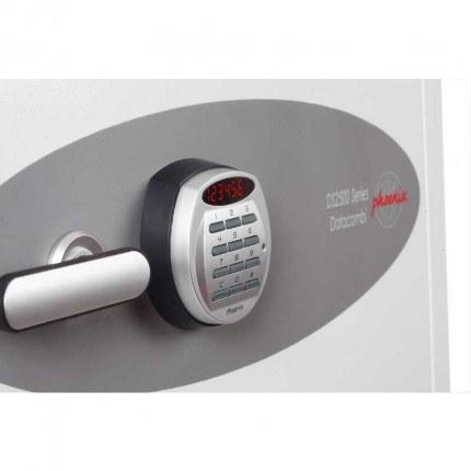 Phoenix Data Combi DS2501E Digital 90 mins Fire Paper Data Safe - Digital Electronic lock