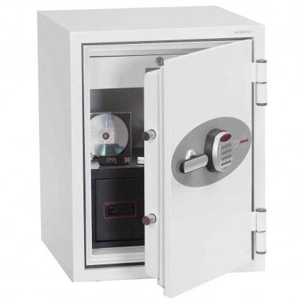Phoenix DataCombi DS2501E Digital 90min Fire Paper Data Safe - door ajar