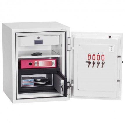 Phoenix Data Combi DS2501F 90 mins Fire Paper and Data Safe - Door open