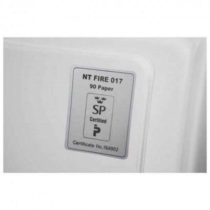 Phoenix DataCombi DS2502K 90mins Key Fire Data Paper Safe - fire test certificate