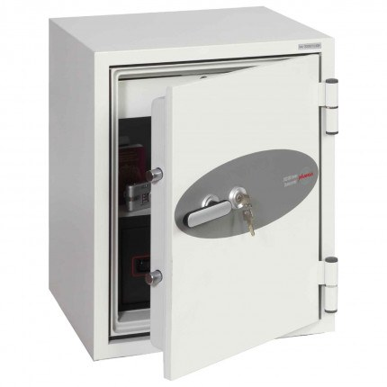 Phoenix DataCombi DS2502K 90mins Key Fire Data Paper Safe - door ajar