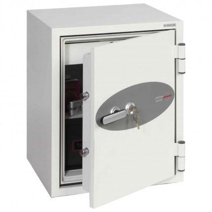 Phoenix DataCombi DS2502K 90mins Key Fire Data Paper Safe - door ajar