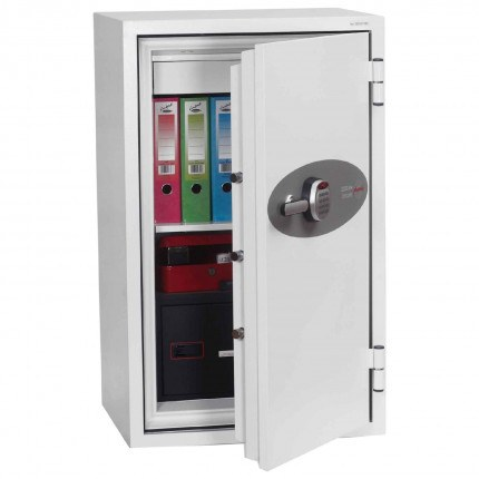 Phoenix Data Combi DS2503E 2 Hr Digital Fire Data Paper Safe - door ajar