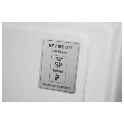 Phoenix DataCombi DS2503K 2 HR Key Lock Fire Data Paper Safe - Fire Test Certificate