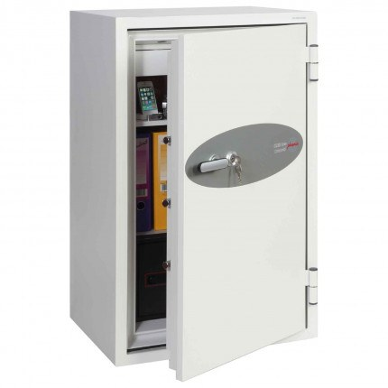 Phoenix DataCombi DS2503K 2 HR Key Lock Fire Data Paper Safe - Door ajar