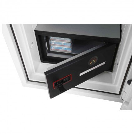 Phoenix DataCombi DS2503K 2 HR Key Lock Fire Data Paper Safe - Data Fire Box